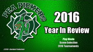 2016 Pea Pickers Year In Review