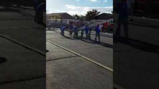 Baldwin drill cart ladder Lvfd